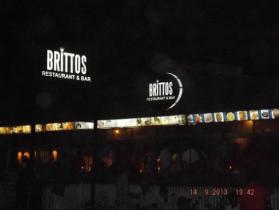 Britto's under the moon...