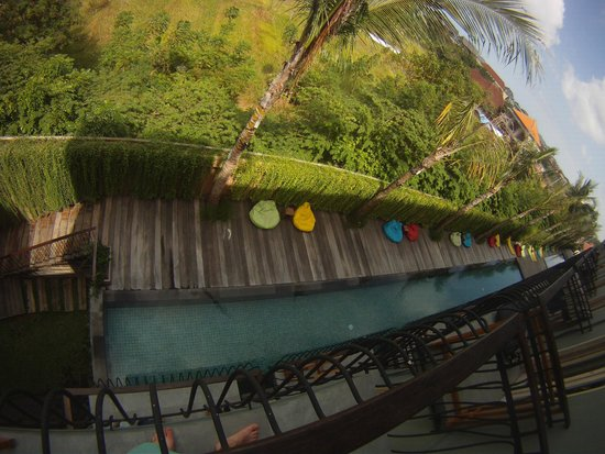 FRii Bali Echo Beach, Hotel : Pool view from room