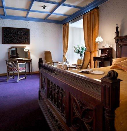 Chateau de Coudree: chambre luxe