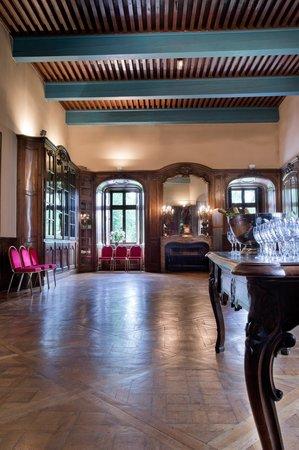 Chateau de Coudree: salon privé