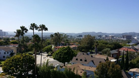 Mr. C Beverly Hills: The view from our room!