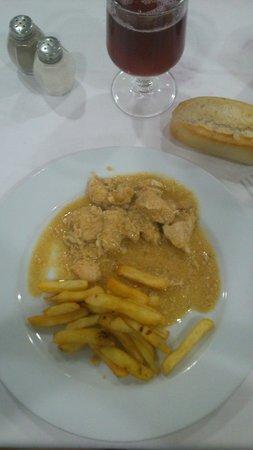 Dynastic Hotel: Pollo al curry