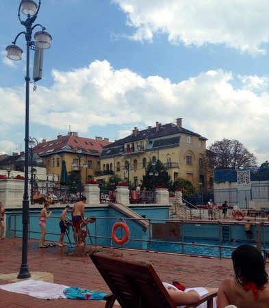 Gellert Spa : Wavepool