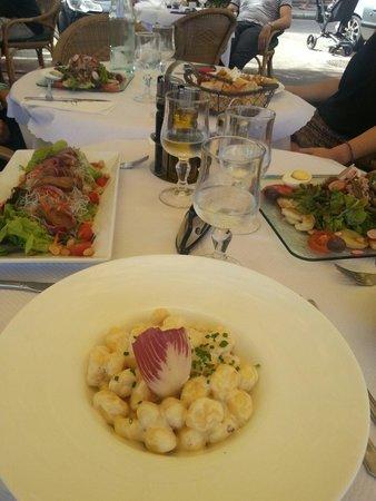 Au Palais Des Glaces: Les salades et pates