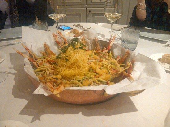 Brusaporto, Italy: La frittura di pesce! Super!
