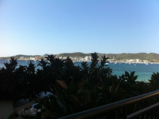 Hotel Club San Remo : View of San Antonion Bay from Room