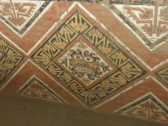 Chan Chan: Mosaics still intact