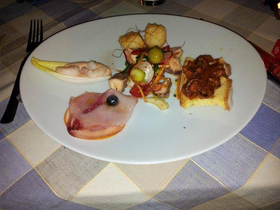 Hotel Etrusco: Cena Ferragosto - Antipasti Misti