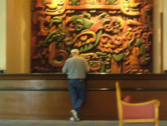 Tegucigalpa Marriott Hotel: Front desk