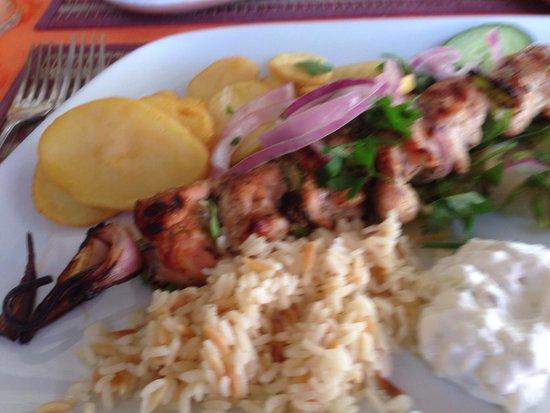 Mama Sofia's: Chicken souvlaki - lovely