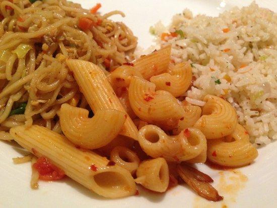 Cinnamon Lakeside Colombo: Various types of pasta