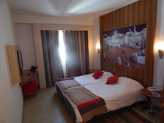 Carlton Hotel Tunis : 客室
