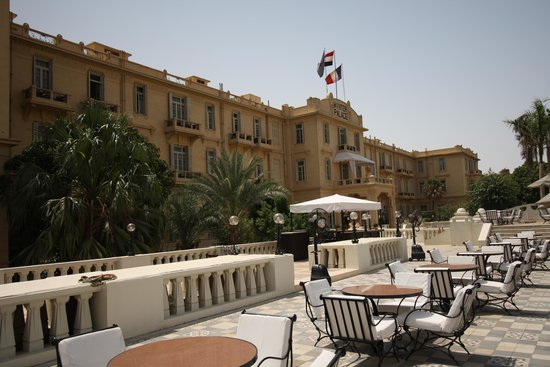 Sofitel Winter Palace Luxor: Facade from north terrace