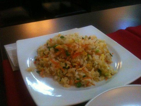 Ristorante Asahi Segrate : riso con verdure