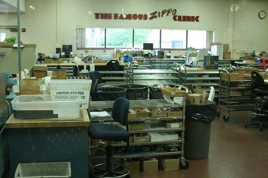Zippo / Case Museum: Zippo clinic