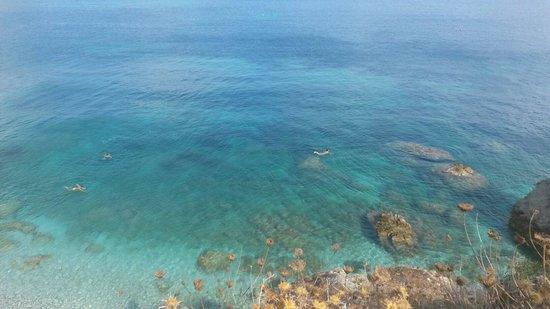 Spiaggia di Sansone: Il mare di Sansone