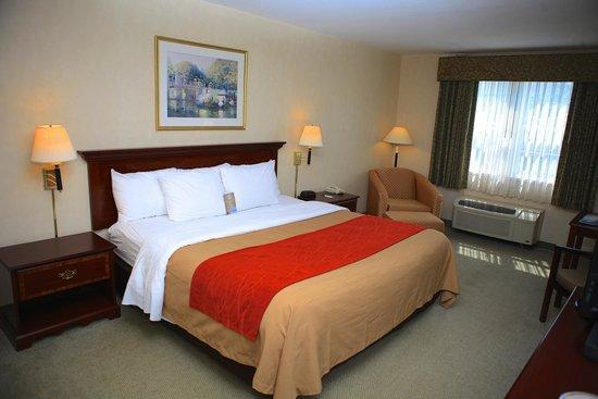 Comfort Inn Plymouth: Sleep tight