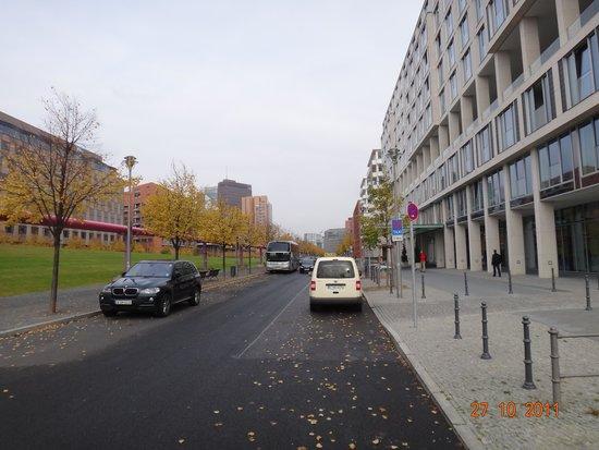 Scandic Berlin Potsdamer Platz: Fachada do hotel