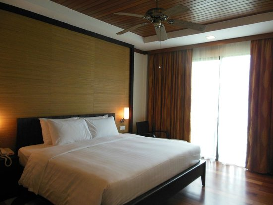 Nexus Resort & Spa Karambunai : ベッドルーム