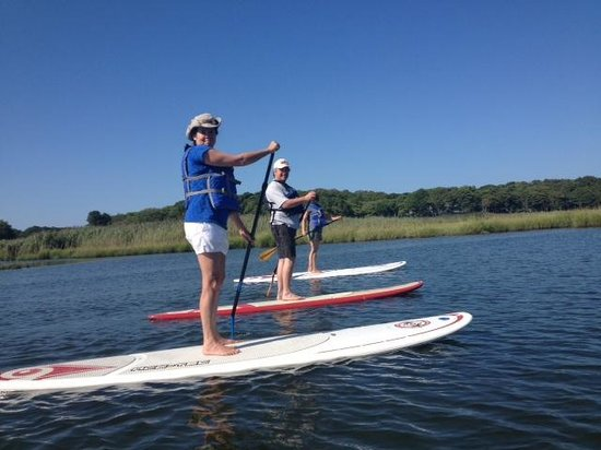 Stand Up & Paddle Cape Cod: On the Centerville River