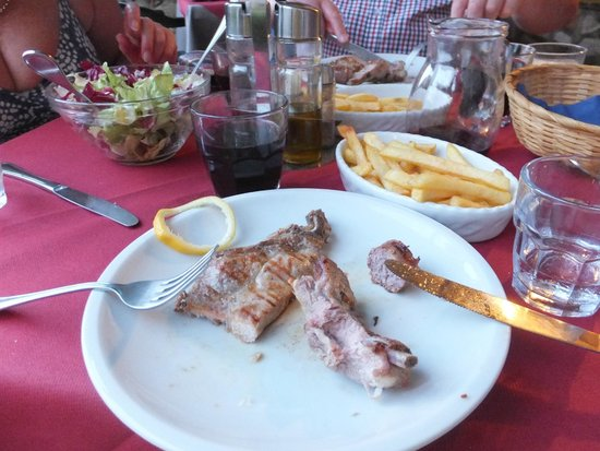 Orciatico, Italia: Meat Course - Mixed grill