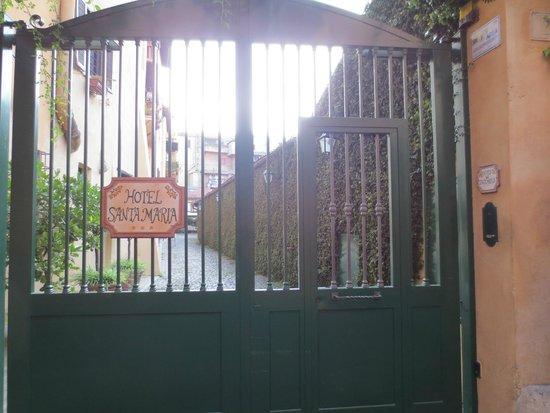 Entrance to Hotel Santa Maria