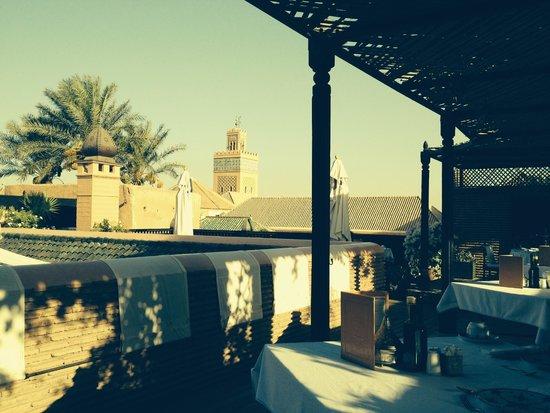 La Sultana Marrakech: view from terrace