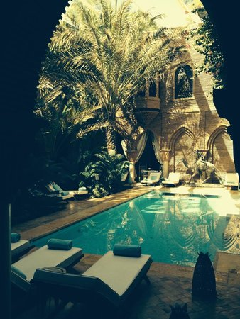 La Sultana Marrakech: wonderful pool