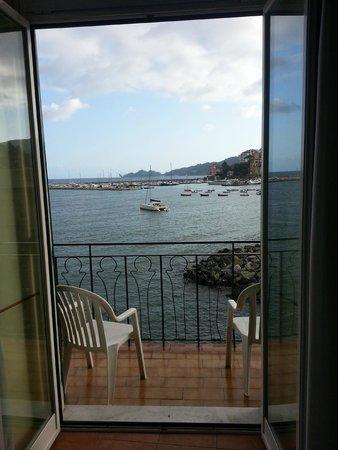 Italia e Lido Hotel: Room view.