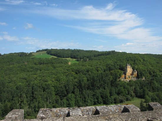 Château de Commarque: The view from the top of the tower
