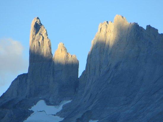 Torres del Paine National Park : Torres vista desde Paine Grande
