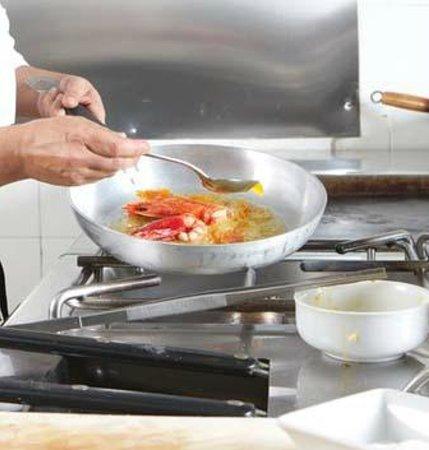 Il Pesce in Bottiglia: cucina