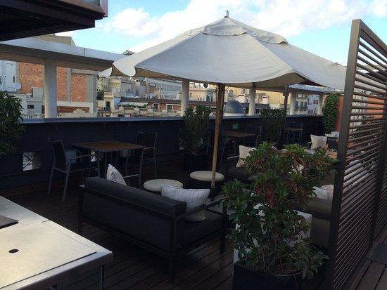 Rooftop deck, Hotel Jazz