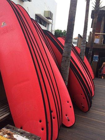 Pro Surf School Bali: Доски для учеников: мягкие и не опасные