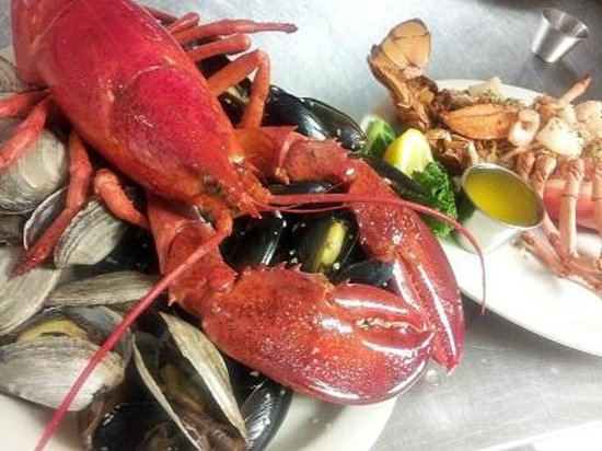 Anglers: A Maine Shore Dinner and Baked Stuffed Lobster