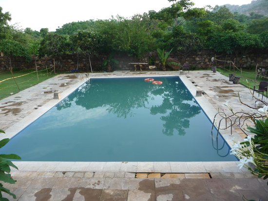 Aravali Silence Lakend Resorts & Adventures Pvt. Ltd.: small swimming pool