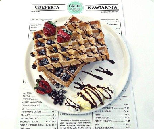 Crepe Cafe: gofr