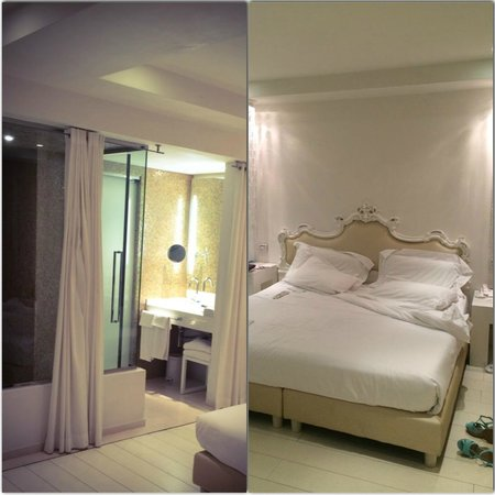 Boscolo Exedra Nice, Autograph Collection : Hotel Room with shower room