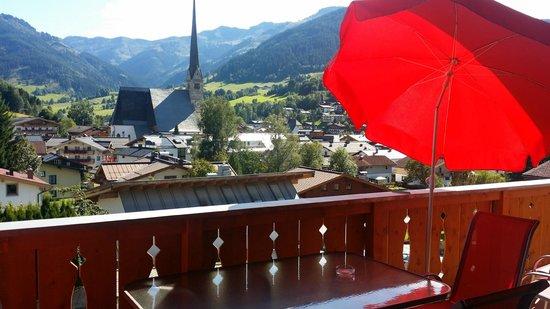 AlpenParks Resort Maria Alm: Balcony of Alpine Dreams Appt. at  Alpenparks Resort - Maria Alm