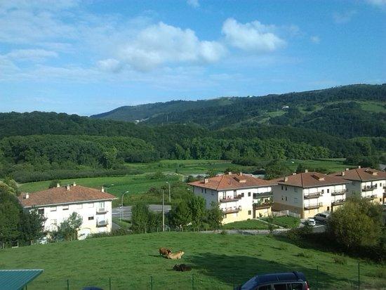 Aginaga Hotela: vista dalla stanza dell'aginaga san sebastian