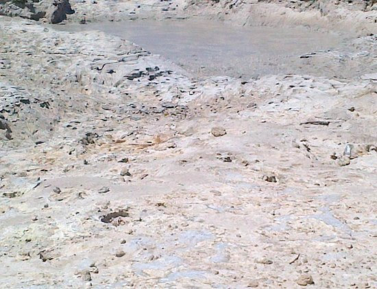 Vulcano Solfatara: Solfatara the hot mud