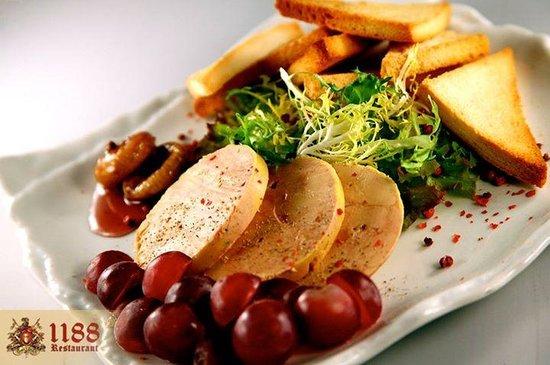 Assiette foie gras photo de 1188 restaurant and lounge - Decoration assiette de foie gras photo ...