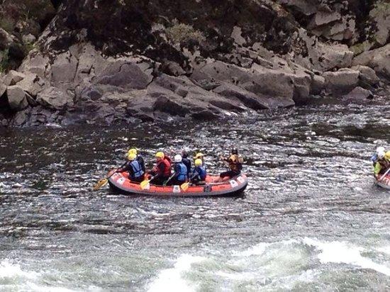 Galicja, Hiszpania: Rafting
