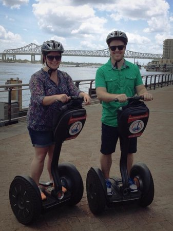 City Segway Tours New Orleans: Along the Mississippi