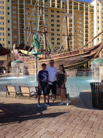 Lake Buena Vista Resort Village & Spa: Pirate pool
