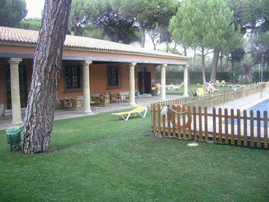 Parador de Tordesillas: Relaxing place to sit