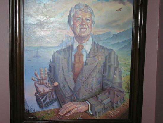 Jimmy Carter Library & Museum: Potrait