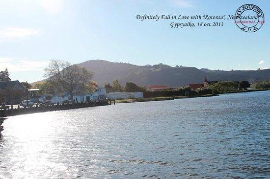 Lake Rotorua: nice weather