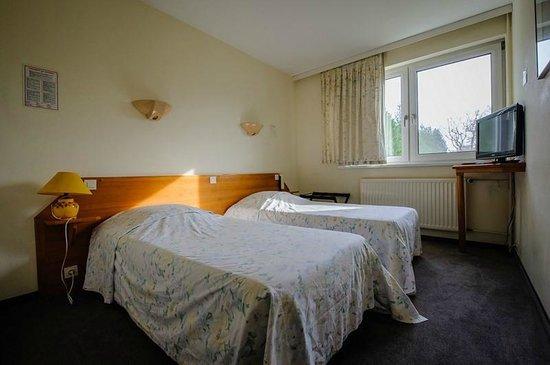 Hotel la Couronne: Chambre avec 2 lits simples
