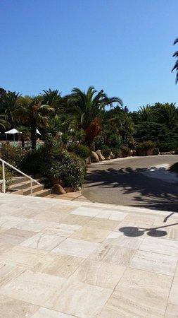 Campo Dell'Oro : Devant la reception